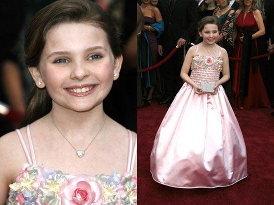 Oscars Red Carpet: Abigail Breslin