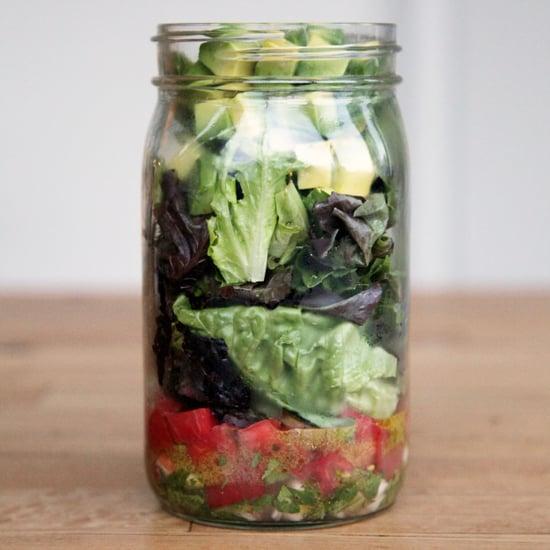 Guacamole Mason Jar Salad Recipe