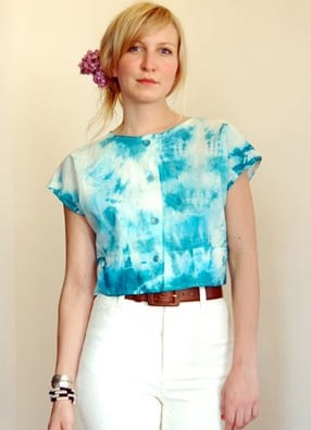 Fab Finger Discount: Mociun Tie-Dyed Crop Top