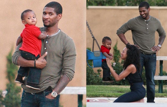 Photos of Usher and His Son