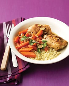 Slow Cooker Recipe For Spiced Chicken Stew With Carrots