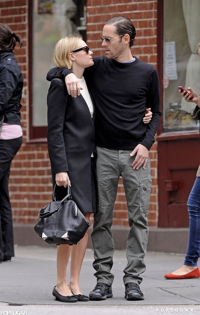 Kate Bosworth and boyfriend Michael Polish showed some PDA while taking a stroll through the West Village in NYC.
