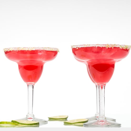 Hibiscus Margarita Recipe With Tea Simple Syrup