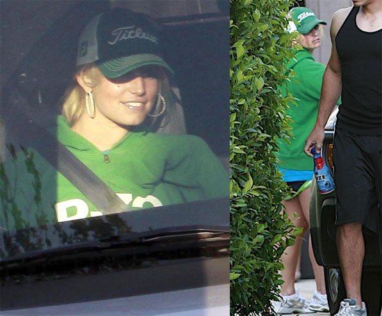 Photos of Jessica Simpson in Green