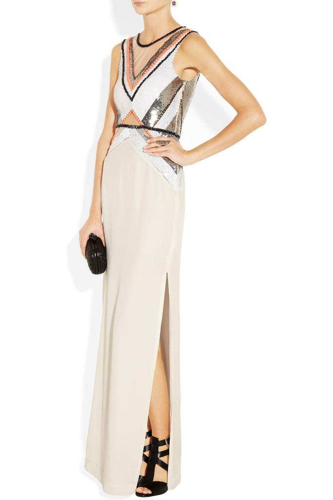 The Sass & Bide Any Given Friday Embellished Silk Gown ($870) is a great alternative to the typical black-tie getup; I love the sexy cutouts, and the colorful sequins are fun and flirty without being too over-the-top. — Britt Stephens, assistant editor