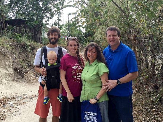 Jim Bob and Michelle Duggar Surprise Jill, Derick and Baby Israel During Mission Trip