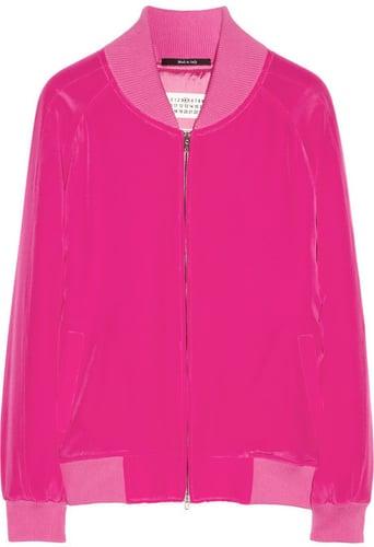 Maison Martin Margiela Silk bomber jacket