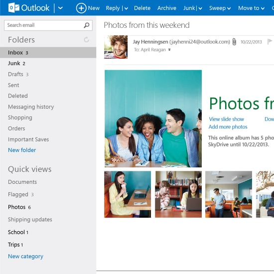 Hotmail Email Moves to Outlook.com