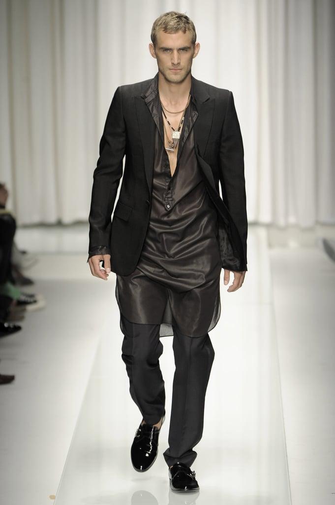 Milan: Versace Men's Spring 2010