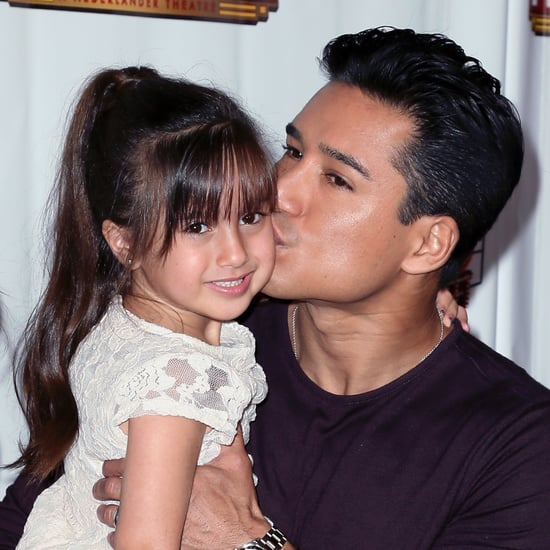 Mario Lopez and His Daughter on Red Carpet May 2016