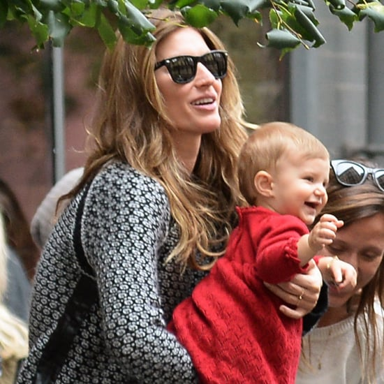 Gisele Bundchen and Vivian Brady Going to Lunch in NYC