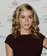 Kiernan Shipka looked darling with loads of curls and simple makeup at the Academy of Television Arts & Sciences' Emmy Nominee Reception.