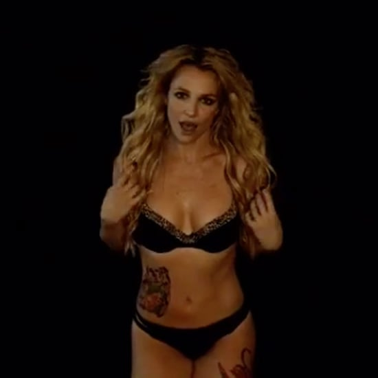 Britney Spears Dancing Instagram Video February 2016