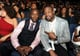 Don Cheadle sat with Dwyane Wade.