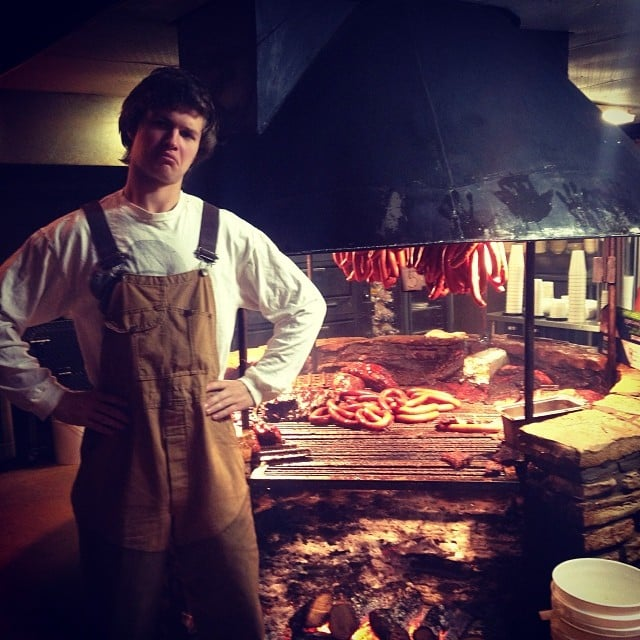 When His BBQ Game Was Seriously So Strong