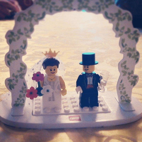 Love in Lego