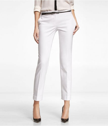 Ultimate Double Weave Editor Ankle Pant
