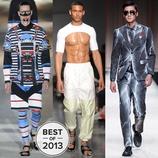Let's Hear It For the Boys of 2013's Most Shocking Runways