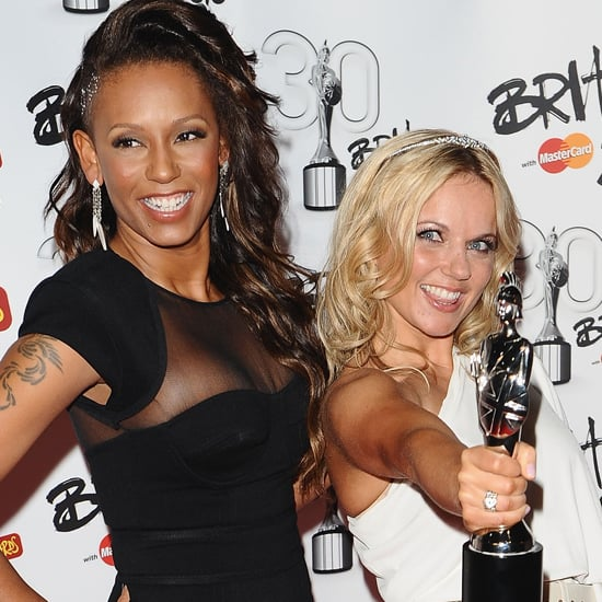 2010: Melanie Brown and Geri Halliwell