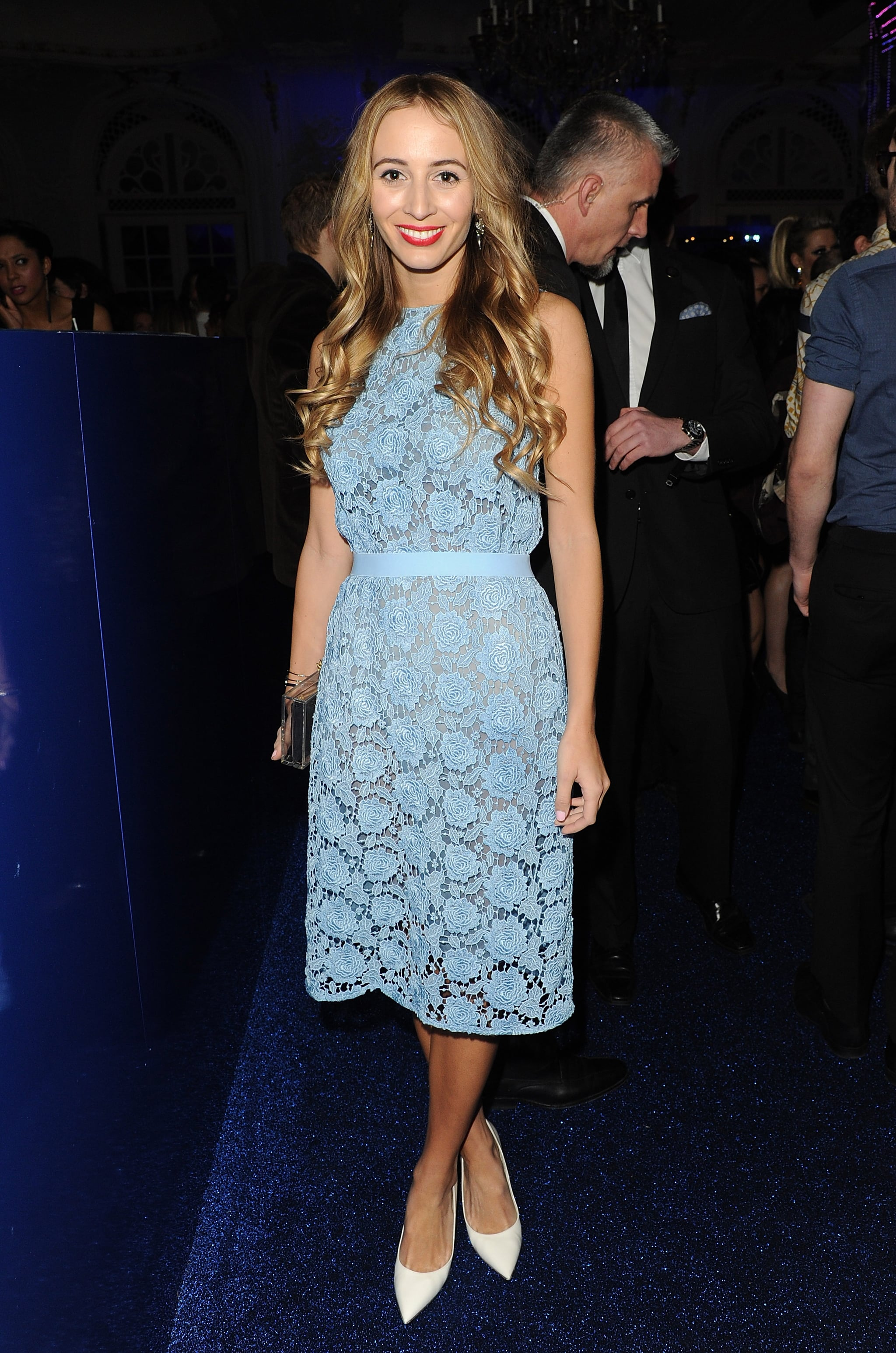 Harley Viera-Newton at the Warner Music Group's post-Brit Awards party in London.