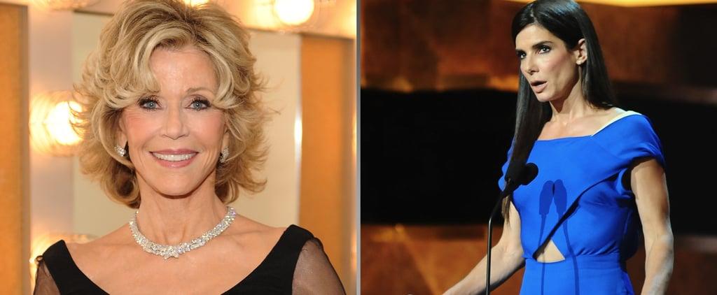 """Sandra Bullock on Jane Fonda: Even """"Her Divorces Are Better"""""""