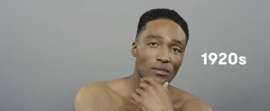 You'll Want to Watch This 100 Years of Male Beauty Video on Repeat