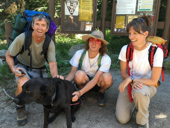 Hikers Save Dog Swept Away in Colorado Creek