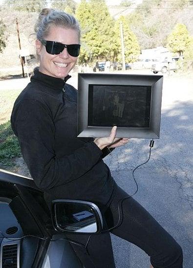 Rebecca Romijn Loves Her New Digital Picture Frame