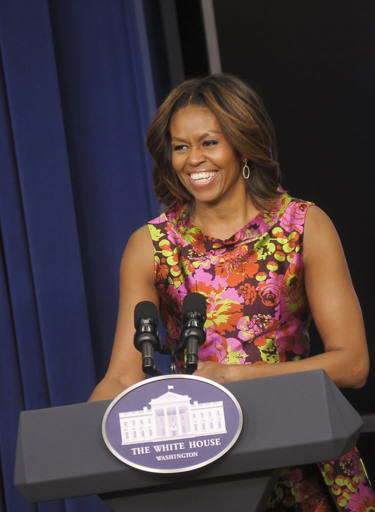 Michelle Obama took the podium at the White House screening of The Trip to Bountiful.