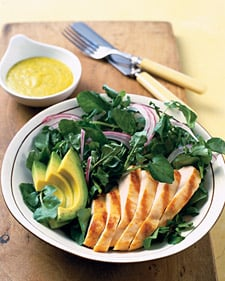 Fast & Easy Dinner: Chicken and Mango Salad