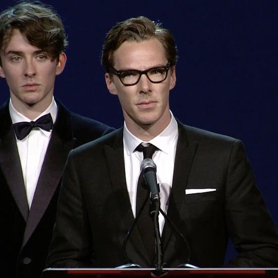 Benedict Cumberbatch's Speech at Palm Springs Film Fest 2015