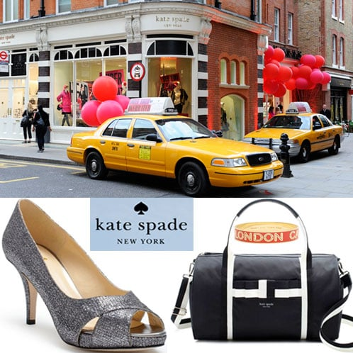 Kate Spade Opens Two Boutiques in London