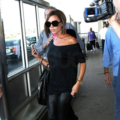 Victoria Beckham Arrives in NYC