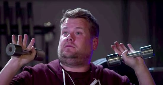 James Corden Spoofs Kanye West's 'Fade' Music Video, Sweats It Out With Teyana Taylor