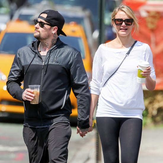 Cameron Diaz and Benji Madden Holding Hands | Pictures