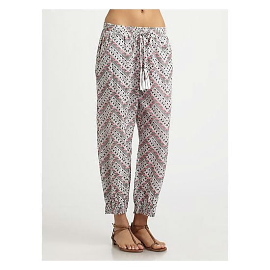 I love the idea of swanning around in voile pants at the beach. Very Beyonce-on-a-boat, you know? — Marisa, publisher Pants, approx $167, Mara Hoffman at Saks Fifth Avenue