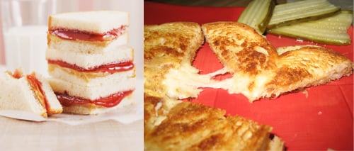 Would You Rather Eat PB&J or Grilled Cheese?