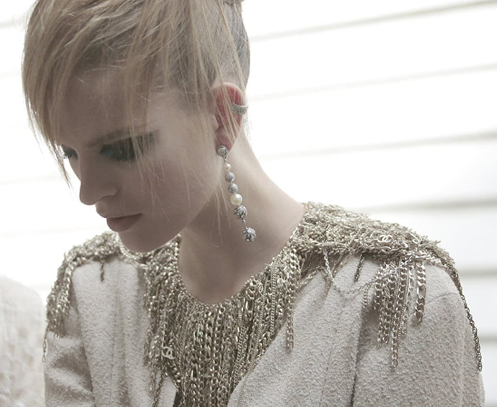 An up close moment with the most glamorous chains around. Source: Chanel