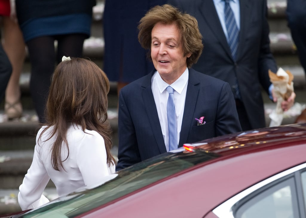 Paul McCartney and Nancy Shevell Are Married —See the Pictures!