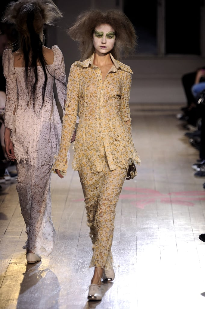 Paris Fashion Week: Yohji Yamamoto Spring 2010