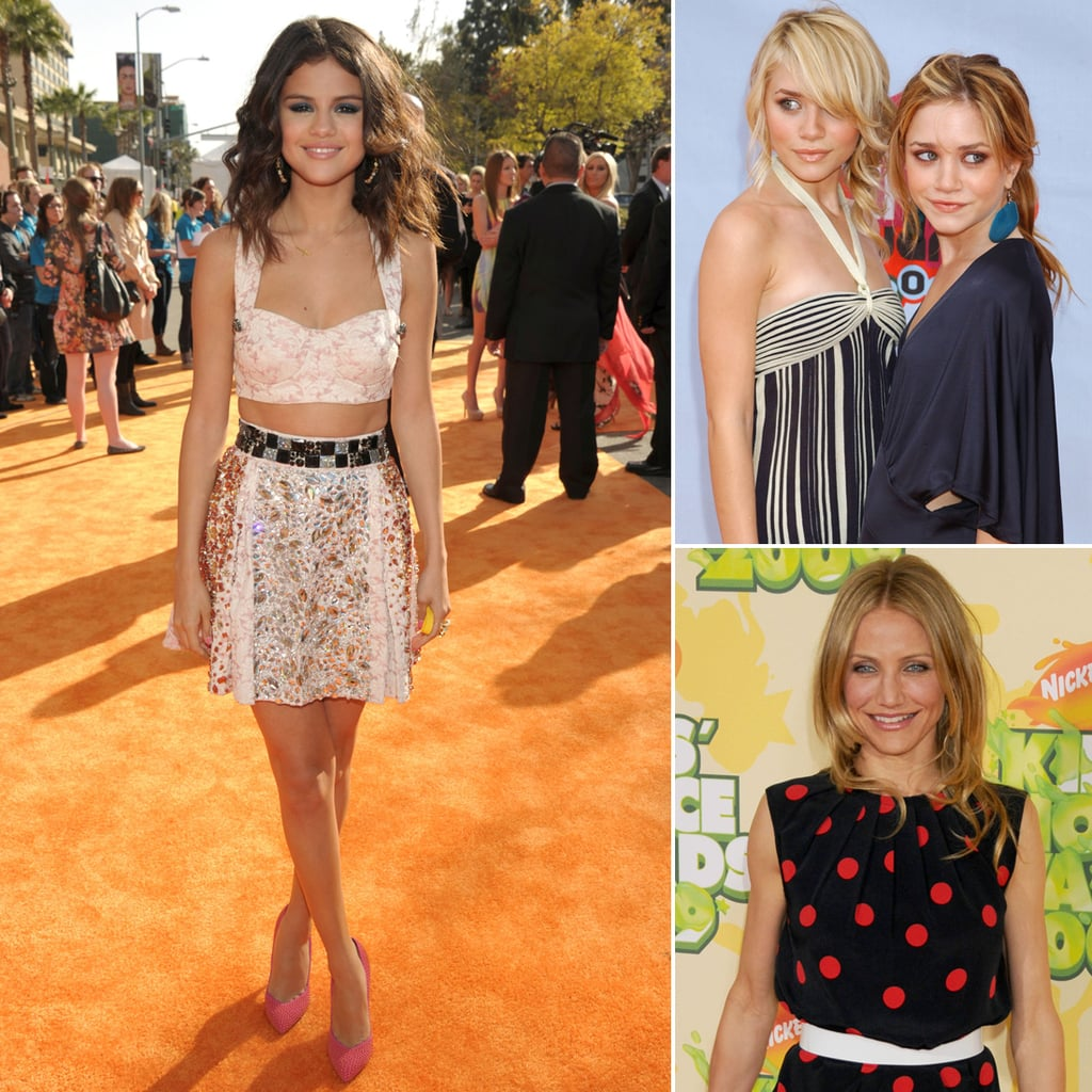 A Look Back at the Kids' Choice Awards Orange-Carpet Fashion