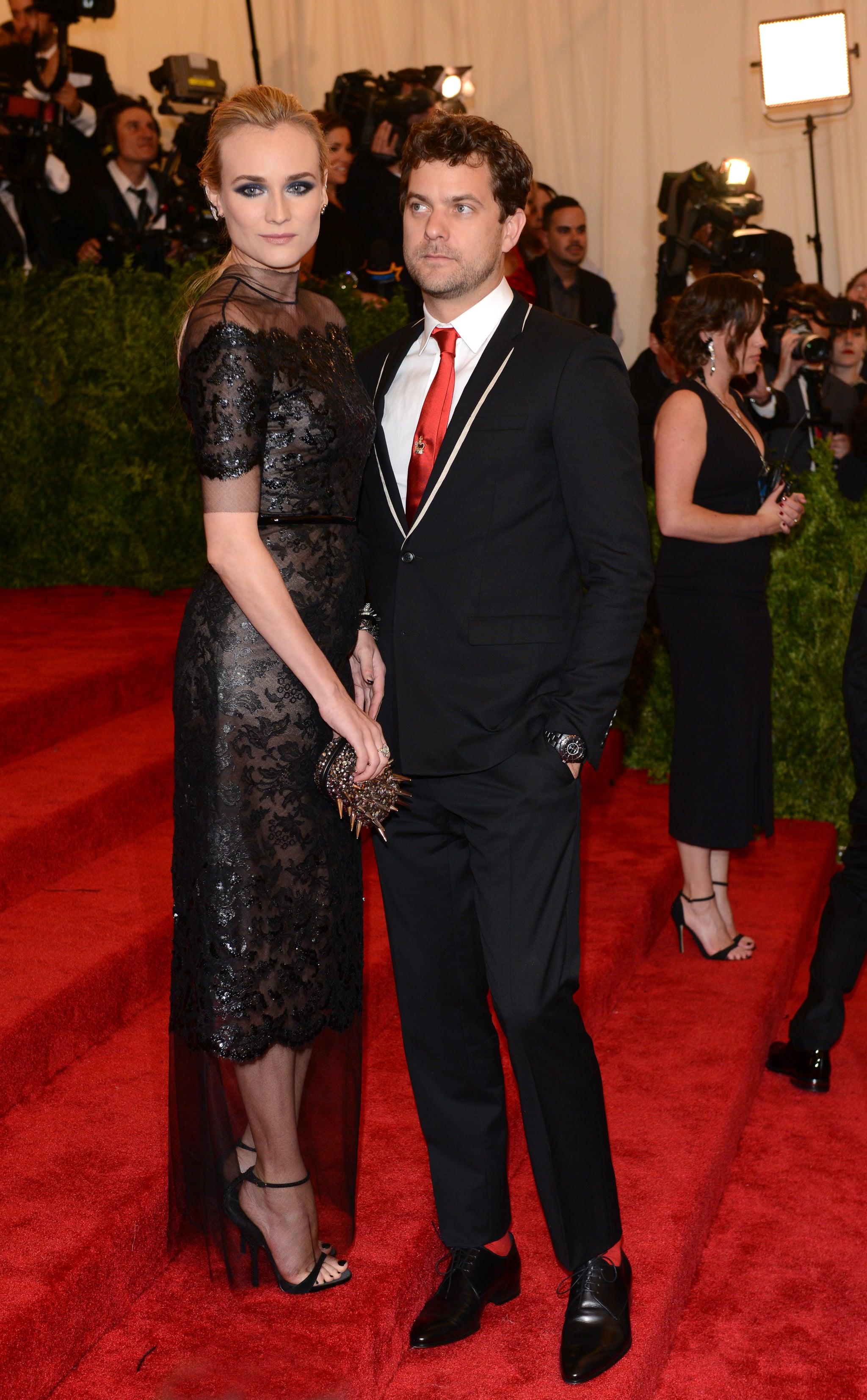 Diane Kruger and Joshua Jackson at the 2013 Met Gala