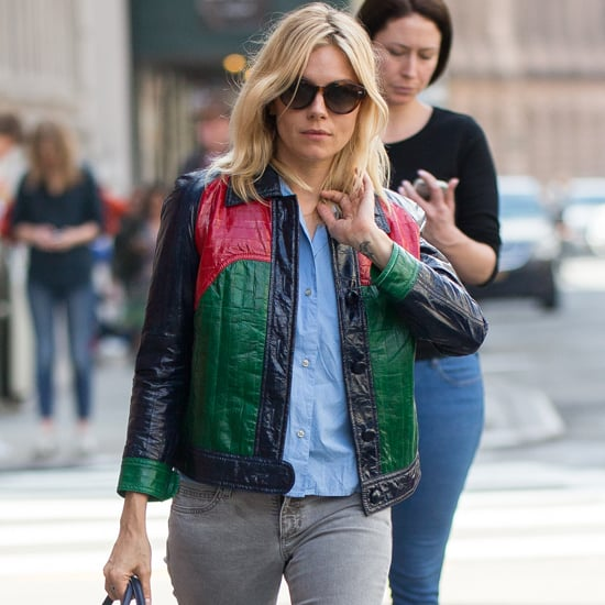 Sienna Miller Gucci Jacket April 2016
