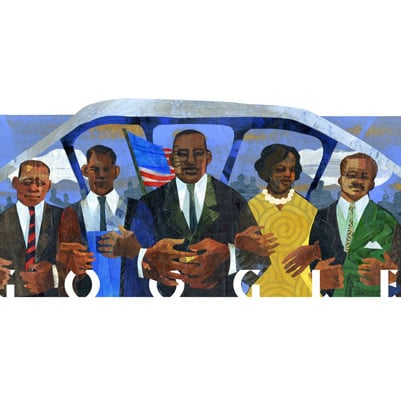 Martin Luther King Google Doodles