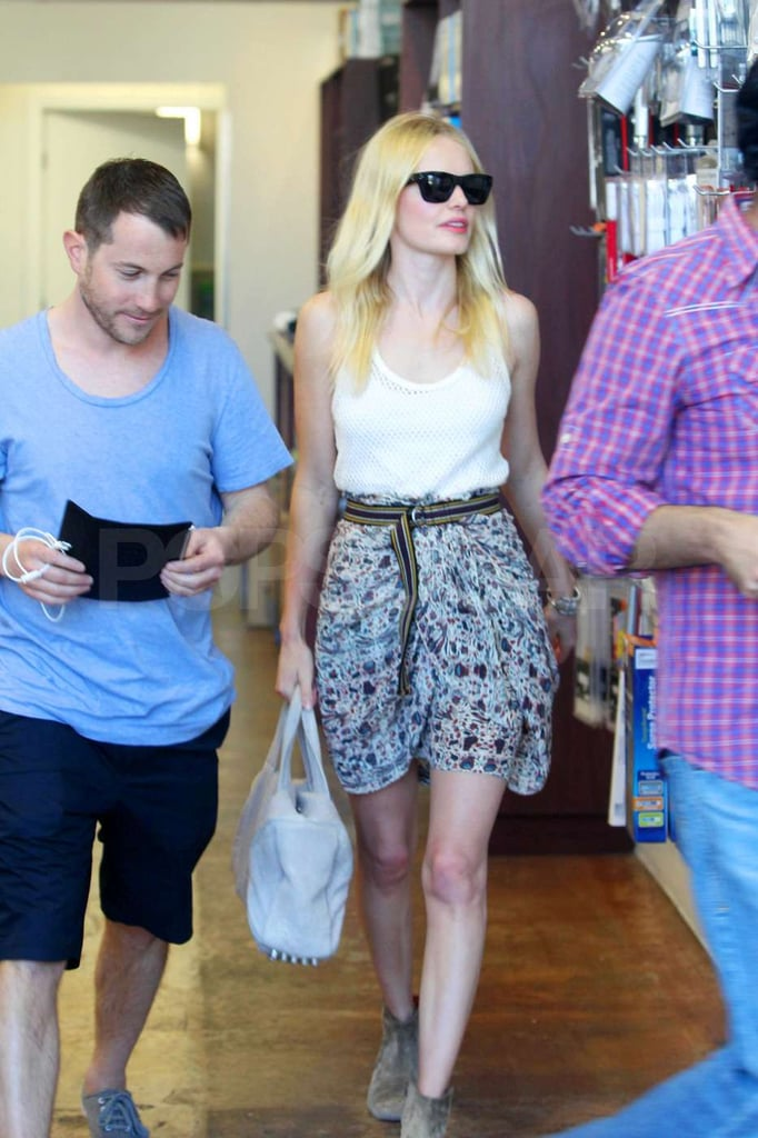 Kate Bosworth Looks Smart as She Takes a Trip to the Mac Store