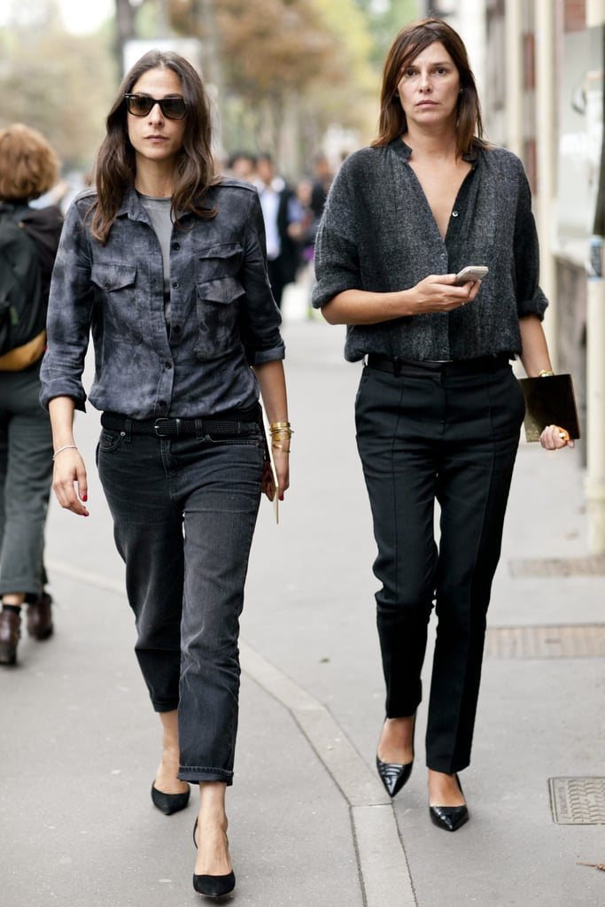 The secret to making easy ensembles like this look so chic? Confidence.