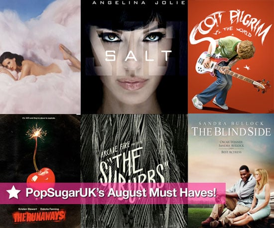 PopSugarUK's Must Haves of Films, DVDs, and CDs Released in August 2010