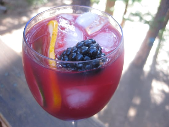 Recipe For Blackberry and Cabernet Caipirinha