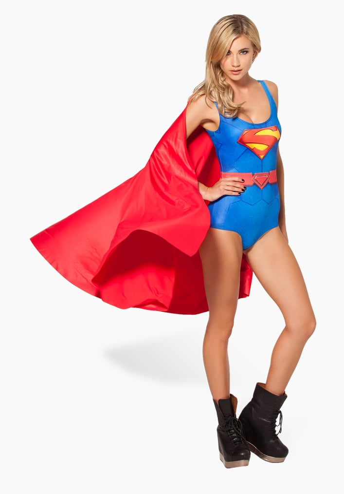 Cape or no cape, this cute Superwoman swimsuit ($102) is one you'll want to wear even outside the pool.