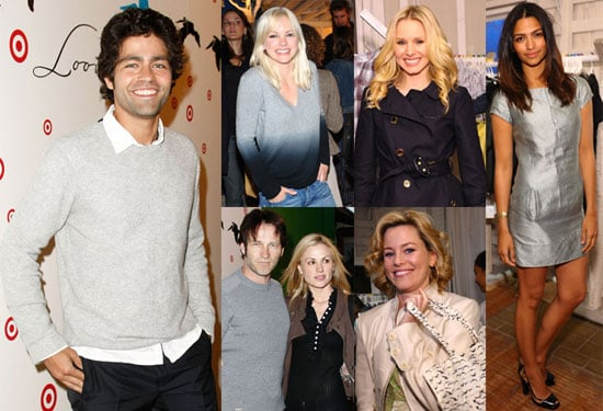 Photos of Adrian Grenier, Camila Alves, Anna Paquin, Elizabeth Banks and Anna Faris at the Launch of Loomstate in LA
